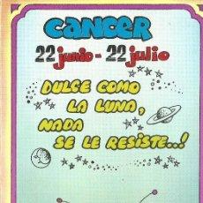 Postales: POSTAL SIGNOS DEL ZODIACO - CANCER. Lote 124392831