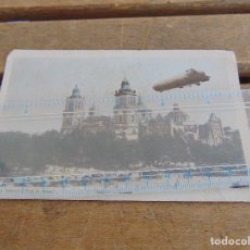 Postales: TARJETA POSTAL ZEPPELIN EN MEXICO CATEDRAL Y PLAZA DE ARMAS. Lote 125645675