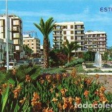 Postales: ESTEPONA - 27 PASEO MARÍTIMO - JARDINES. Lote 125852083