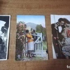Postales: LOTE DE 3 POSTALES ANTIGUAS. Lote 126036027