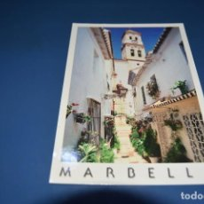 Postales: POSTAL SIN CIRCULAR - MARBELLA 554 - MALAGA - EDITA HANS LOHR. Lote 126244435