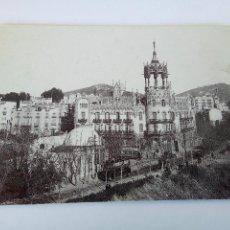 Postales: ANTIGUA POSTAL BLANCO Y NEGRO BARCELONA. Lote 129134419