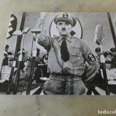 Postales: POSTAL NUEVA SIN CIRCULAR CHARLES CHAPLIN EL GRAN DICTADOR. Lote 129212519