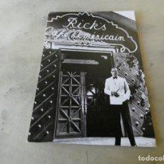 Postales: POSTAL NUEVA SIN CIRCULAR HUMPHREY BOGART CASABLANCA. Lote 129212647
