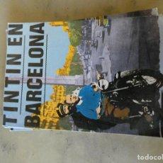 Postales: POSTAL NUEVA SIN CIRCULAR TINTIN EN BARCELONA. Lote 129215031