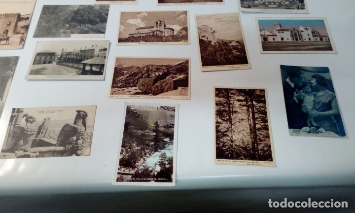 Postales: LOTE VARIADO DE FOTOS - POSTALES ANTIGUAS - Foto 2 - 129643287