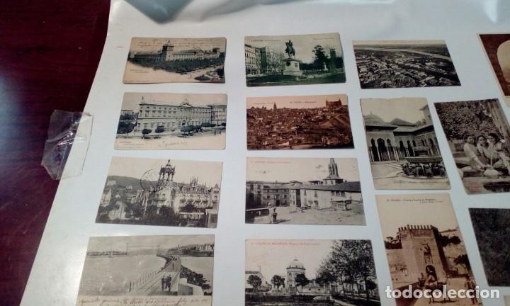 Postales: LOTE VARIADO DE FOTOS - POSTALES ANTIGUAS - Foto 5 - 129643287