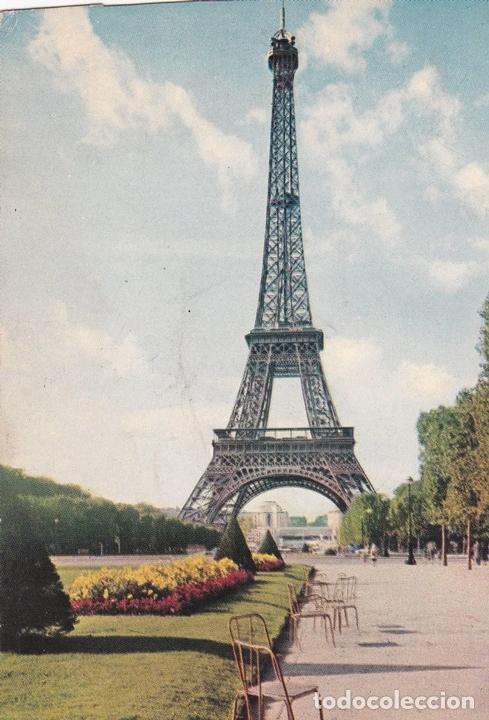postal b6042 paris la torre eiffel comprar en todocoleccion