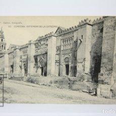 Postales: ANTIGUA POSTAL - CÓRDOBA / EXTERIOR DE LA CATEDRAL Nº 30 - EDIT. HAUSER Y MENET. Lote 130906067
