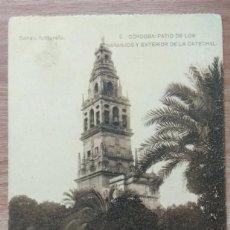 Postales: POSTAL 6.CÓRDOBA. PATIO DE LOS NARANJOS Y EXTERIOR DE LA CATEDRAL . Lote 131020724