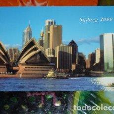 Postales: LOTE 4 POSTALES 10 X 15 CM. MOTIVO: LONDRES, PARÍS, SIDNEY Y REPÚBLICA DOMINICANA. Lote 131320066