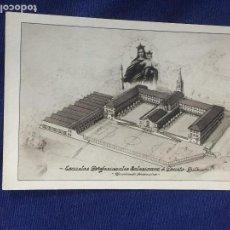 Postales: POSTAL ESCUELAS PROFESIONALES SALESIANAS DEUSTO BILBAO VIRGEN CARMEN . Lote 131642030