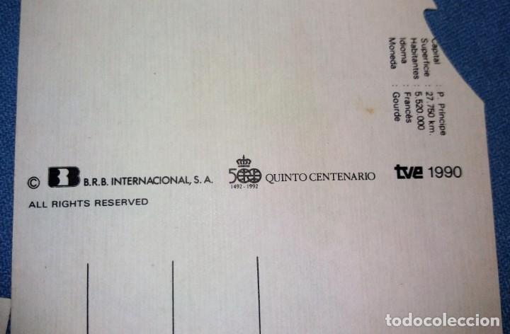 Postales: 6 TARJETAS DE PUBLICIDAD CUETARA QUINTO CENTENARIO TVE ORIGINALES EN PERFECTO ESTADO VER DESCRIPCION - Foto 3 - 131941794