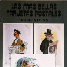 Postales: LAS MAS BELLAS TARJETAS POSTALES : SIGLO XIX-XX. Lote 132833606