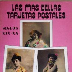 Postales: LAS MAS BELLAS TARJETAS POSTALES : SIGLO XIX-XX. Lote 132833962