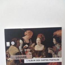Postales: LOUVRE, L'ALBUM DES CARTES POSTALES - ADAM BIRO. Lote 133011618