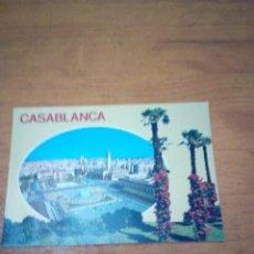 Postales: POSTAL CASA BLANCA. PLACE DES NATIONS UNIES. . Lote 134370138