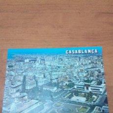Postales: POSTAL CASABLANCA. VUE AERIENNE. PLACE DES NATIONS UNIES. . Lote 134374926