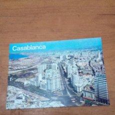 Postales: POSTAL CASABLANCA. AVENUE DE L´ARMEE ROYALE. . Lote 134376238