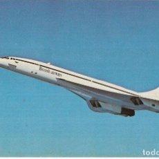 Cartoline: == PJ1345 - POSTAL - CONCORDE IN FLIGHT. Lote 135868874