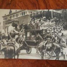 Postales: ANTIGUA POSTAL. BODAS REALES 1906. COMITIVA NUPCIAL EL PRÍNCIPE HEREDERO.. Lote 136376366