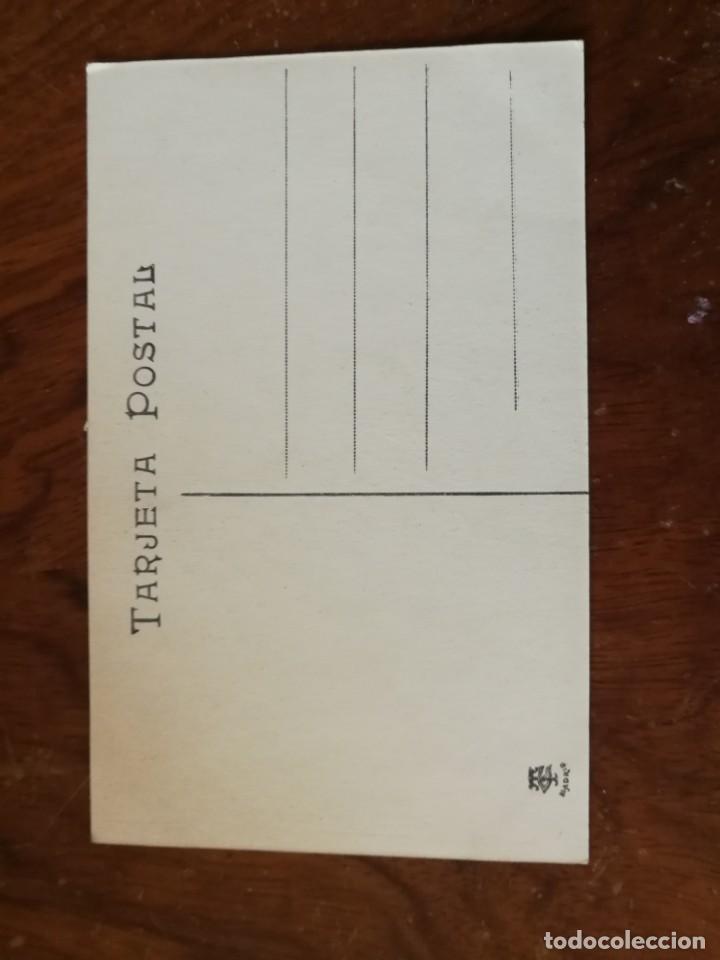 Postales: Antigua postal. Bodas reales. Corrida regia, presentación del caballero Tejada ante ss.mm.Taurina. - Foto 2 - 136376918