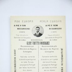 Postales: POSTAL - GLOBE-TROTTER PORTUGUEZ, ACCACIO SILVA - PROPAGANDA BANDERA PORTUGUESA EN EUROPA. Lote 136457646
