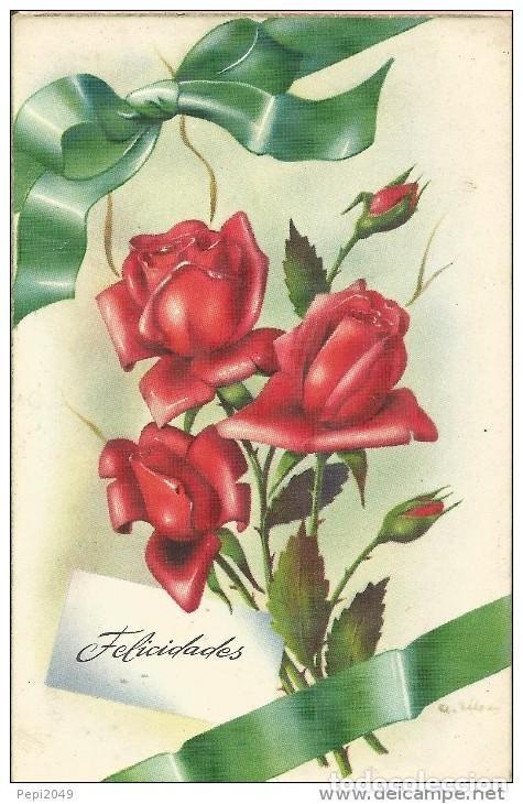 E147 Postal Bonitas Rosas