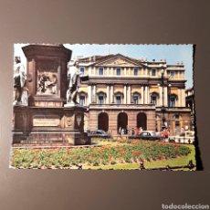 Postales: (CM-06) TARJETA POSTAL CIRCULADA - N°247. MILANO. TEATRO LA SCALA. Lote 137257081