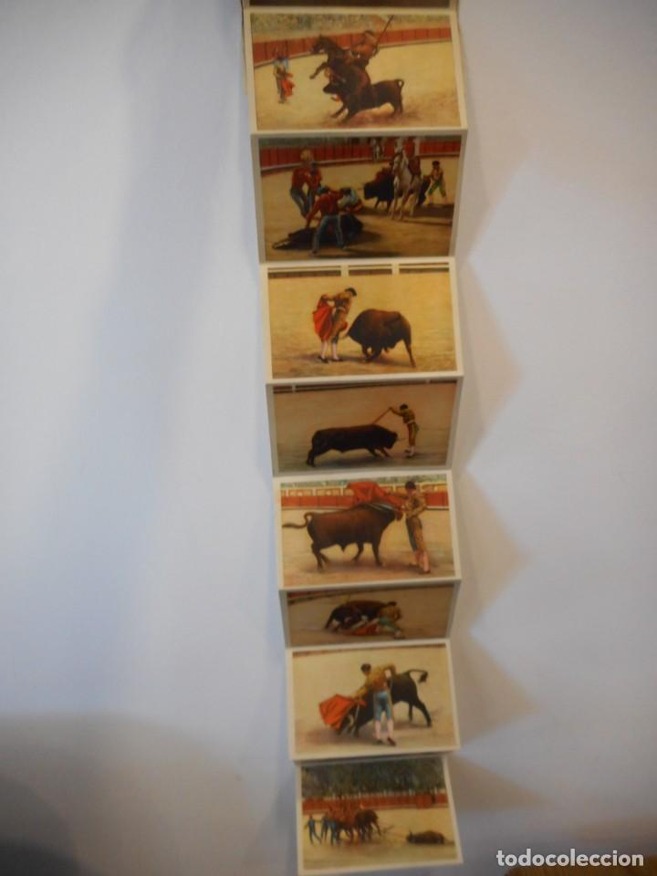 Postales: Desplegable de 10 postales sobre el mundo del toro - Foto 3 - 137638006