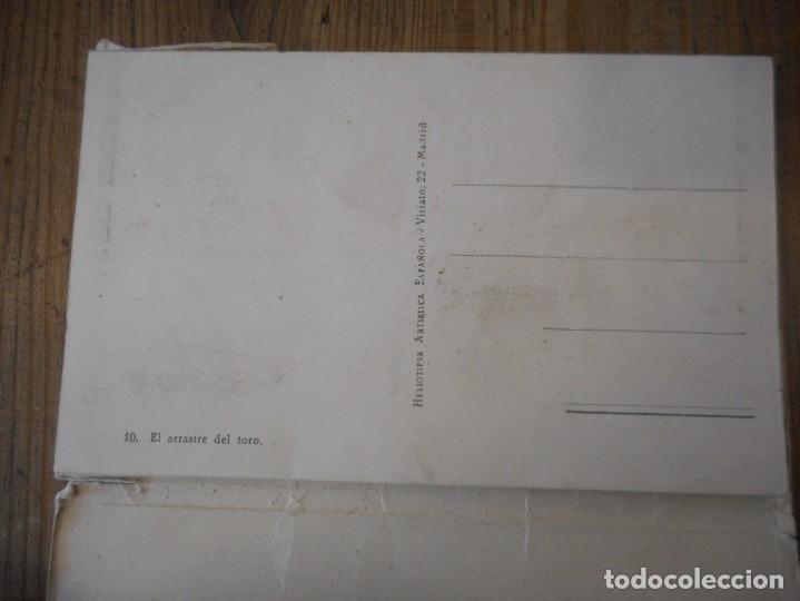 Postales: Desplegable de 10 postales sobre el mundo del toro - Foto 4 - 137638006