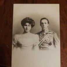 Postales: ANTIGUA POSTAL. S.M.M. LOS REYES DE ESPAÑA. ALFONSO XIII Y VICTORIA.. Lote 138620562