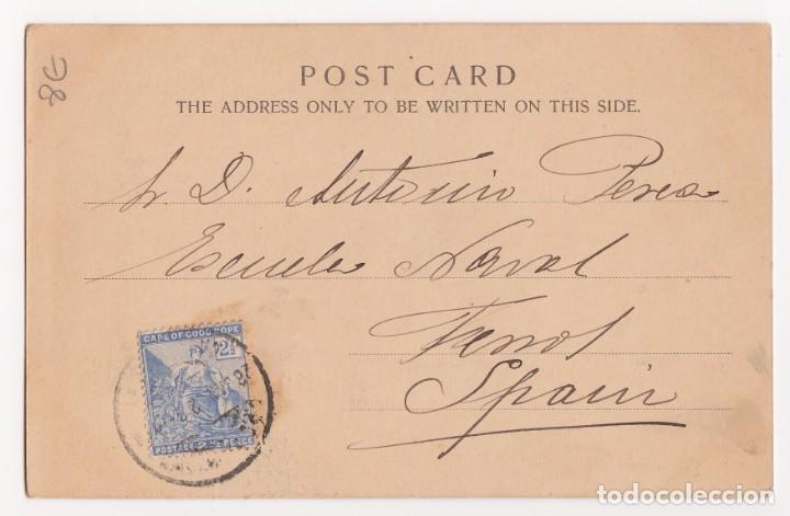 Postales: carta postal con fecha de 27-1-1902 - por identificar personaje - (importante visitar reverso). ebc - Foto 2 - 140633834