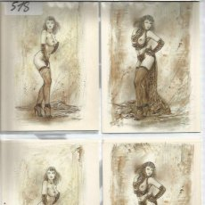 Cartes Postales: POSTALES COMIC LUIS ROYO. Lote 142721758