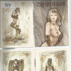 Cartes Postales: POSTALES COMIC LUIS ROYO. Lote 142721814