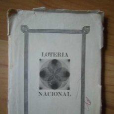 Postales: JUEGO DOCE POSTALES LOTERÍA NACIONAL SERIE I CONCURSO DE CARTELES 1977. Lote 144904604