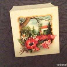 Postales: TARGETA DE FELICITACIONES DESDOBRÁVEL. EDITADO EN ESPAÑA, CIRCULADO. Lote 143352714