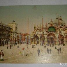 Postales: ANTIGUA POSTAL. VENECIA. SAN MARCO.. Lote 144081182