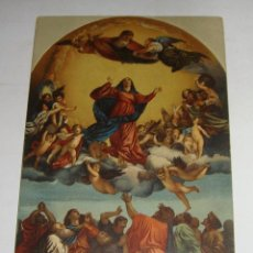 Postales: ANTIGUA POSTAL RELIGIOSA. PINTURA DE TIZIANO. L´ASSUNTA. VENEZIA.. Lote 144083746