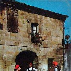 Postales: ANTIGUA POSTAL GRUPO TIPICO MONTAÑES DANZAS BAILES DANCE POSTCARD CC03863. Lote 144093326