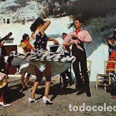 Postales: ANTIGUA POSTAL BAILES GITANOS ESPAÑA TIPICAL DANCES POSTCARD POSTKARTE CC01428. Lote 144093338