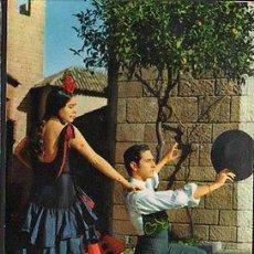 Postales: ANTIGUA POSTAL DE BAILES TIPICOS ESPAÑOLES DANCES POSTCARD POSTKARTE CC01429. Lote 144093342