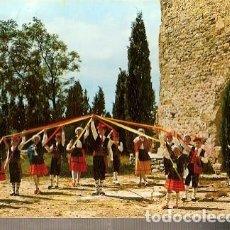 Postales: FRANCIA &FOLKLORE CATALAN, CINTES BALL, POR EL GRUPO CANTARANA DE PONTEILLA, PRADES, PARÍS 1986 (98). Lote 144126902