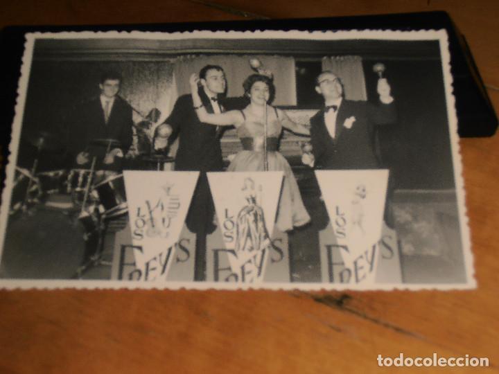FOTO POSTAL GRUPO MUSICAL (Postales - Varios)