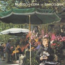 Postales: POSTAL B9102: MUSEO DE CERA BARCELONA: LA MOÑOS. Lote 144235926