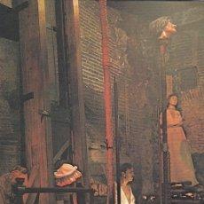 Postales: POSTAL B9104: MUSEO DE CERA BARCELONA: GALERIA DE EJECUCIONES. Lote 144236142