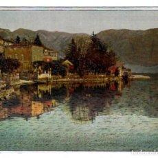 Postales: WARREN NÚM. 3 (PRINTED IN ENGLAND) - PAISAJE, PUEBLO, LAGO - EFECTO PLATEADO. Lote 144238810