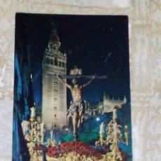 Cartoline: VENDO POSTAL DE EL CACHORRO (SEVILLA), SEMANA SANTA.. Lote 144977774