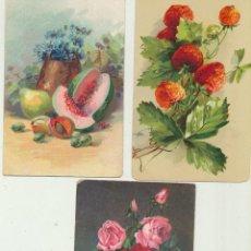 Postales: LOTE DE 3 POSTALES SUIZAS. AÑOS 30-40. Lote 144979446