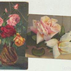 Postales: LOTE DE 2 POSTALES SUIZAS. Lote 144979462